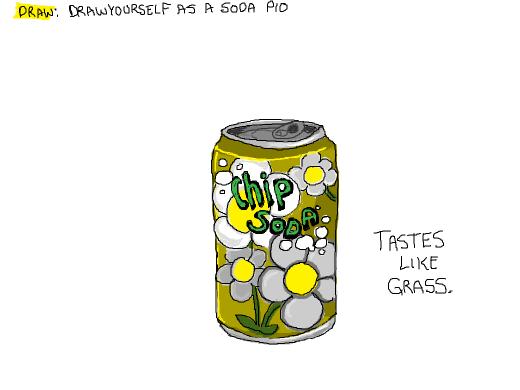 Draw yourself as a soda PIO