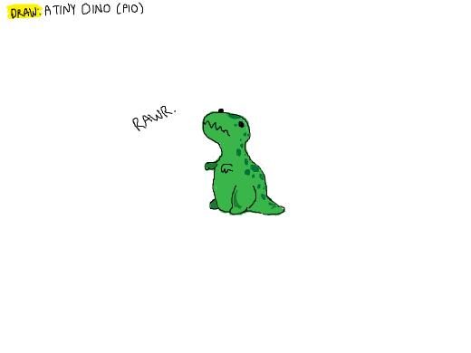 Draw a tiny Dino! So cyot! [PIO]