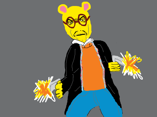 Arthur (the Aardvark) as the protagonist in your favorite video game