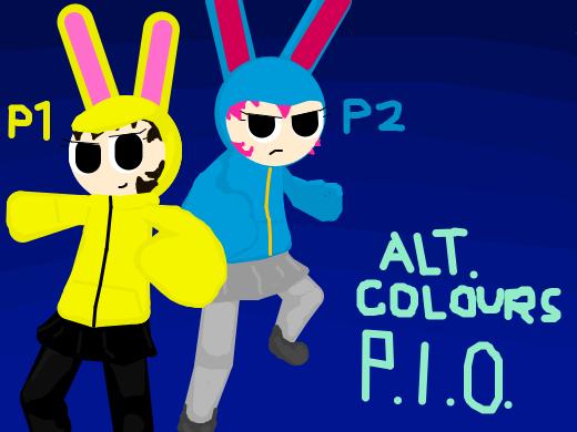 Alternate color scheme PIO