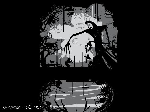 Draw your desktop background pio