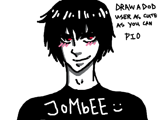 Draw a DoD user as cute as you can! PIO