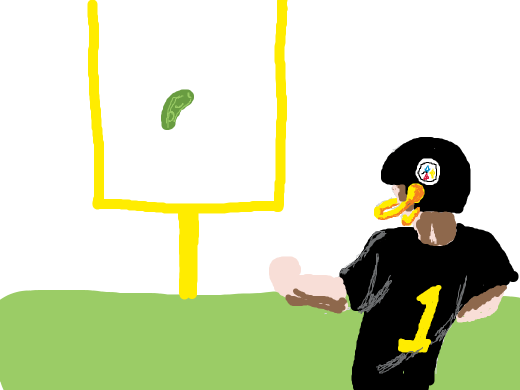 field goal with a pickle