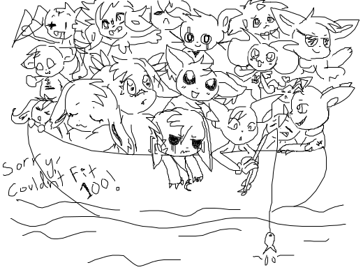 The boat of 100 ocs