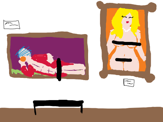 naked art gallerys