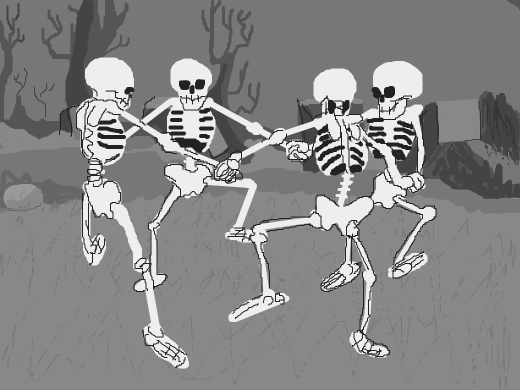 ♫ spooky scary skeletons ♫