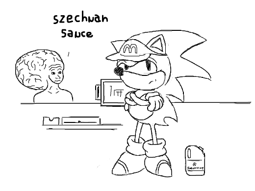 SONIC EMPLOYEE AT MCDONALDS