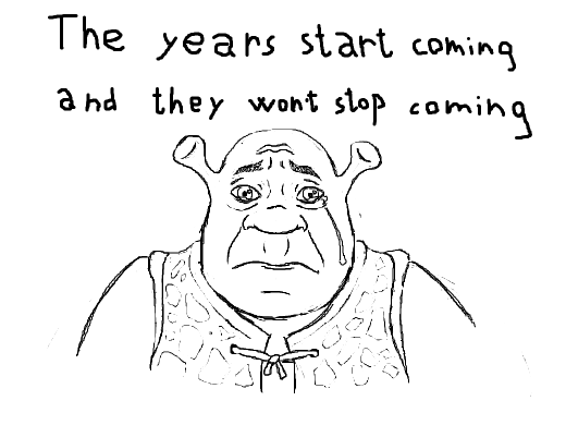 Sad Shrek