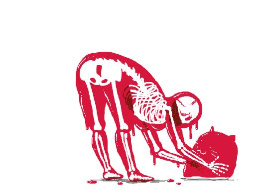 Skeleton slime