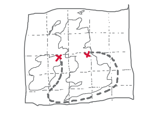 An accurate map of the united kingdom