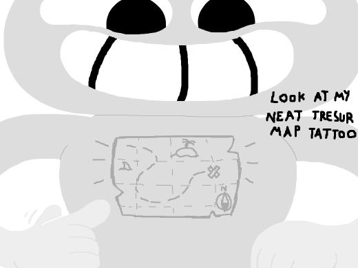 map on skin