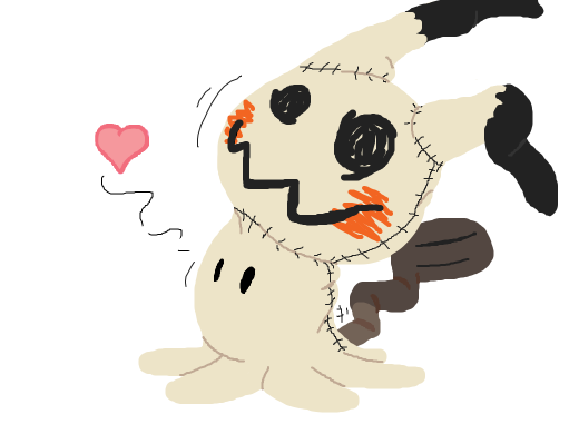 Mimikyu from Pokémon.