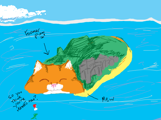 AFTER THE PIANO CAT RETIRED, HE BECAME HAWAII!