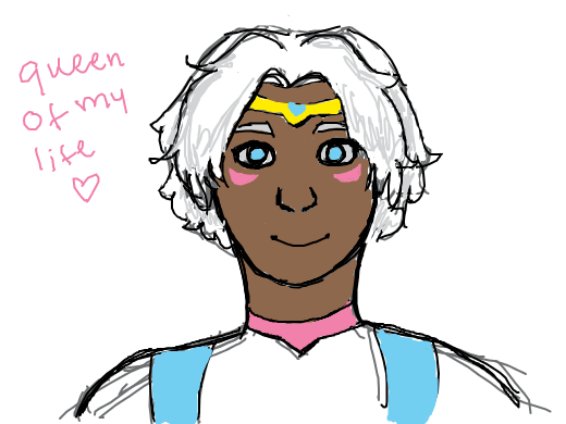 allura with short hair cause why not
