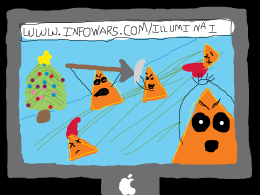 ILLUMINATI DORITO WAR ON CHRISTMAS - ONLY ON INFOWARS.COM