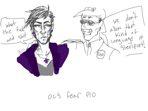 OC's fear pio