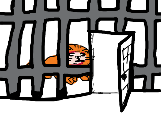 A caged lion, unleashed.