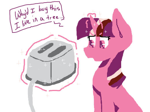 Twilight buys a toaster