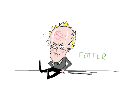 Draco is angry