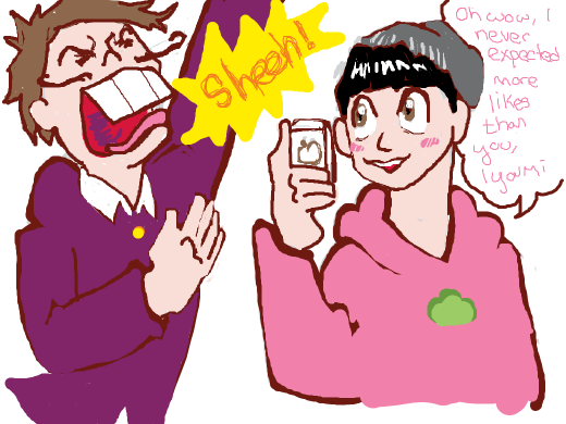 Totty is more popular on Instagram than Iyami