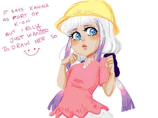 Kanna as part of k-on
