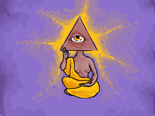 Eye Of Providence but with a bod!