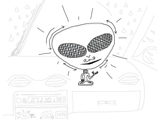 bobbly head alien