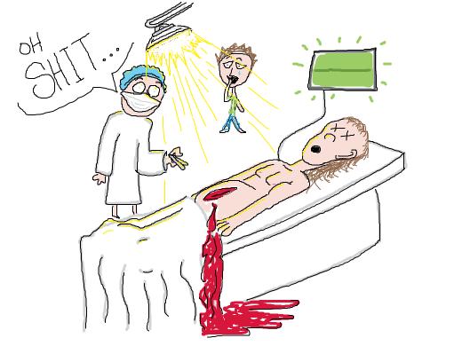 Botched surgery