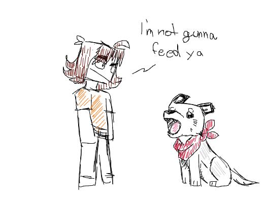OC refuses to feed dog