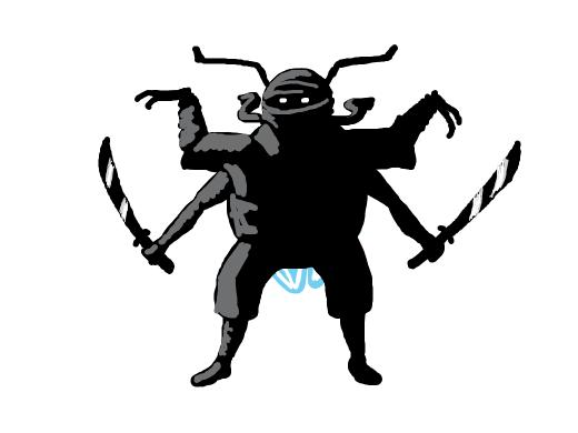 loner ninja bug