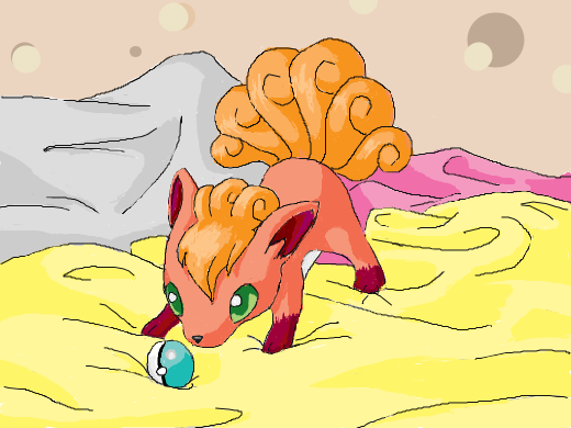 Draw a baby version of your favorite Pokemon.