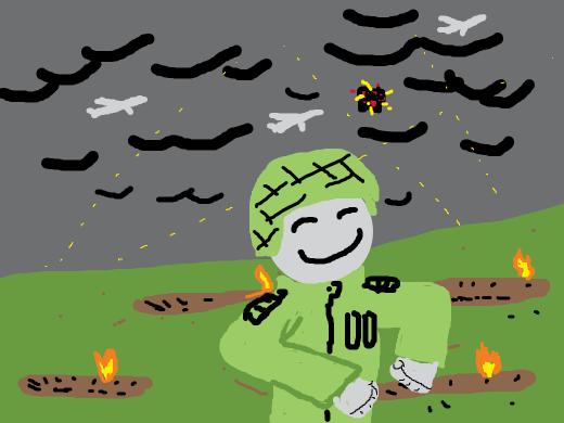 happy man in warfield gives no fucks