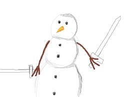 snowman murdering poop at 3:05